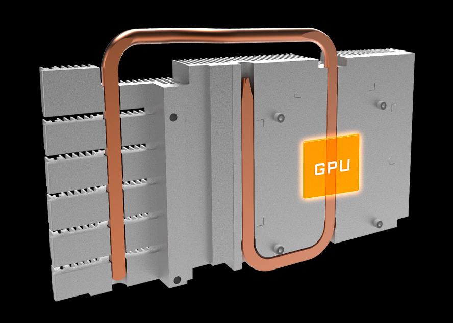 Card màn hình VGA GIGABYTE GeForce GTX 1060 6GB GDDR5 Windforce 2X OC D5X (GV-N1060WF2OC-6GD 2.0)