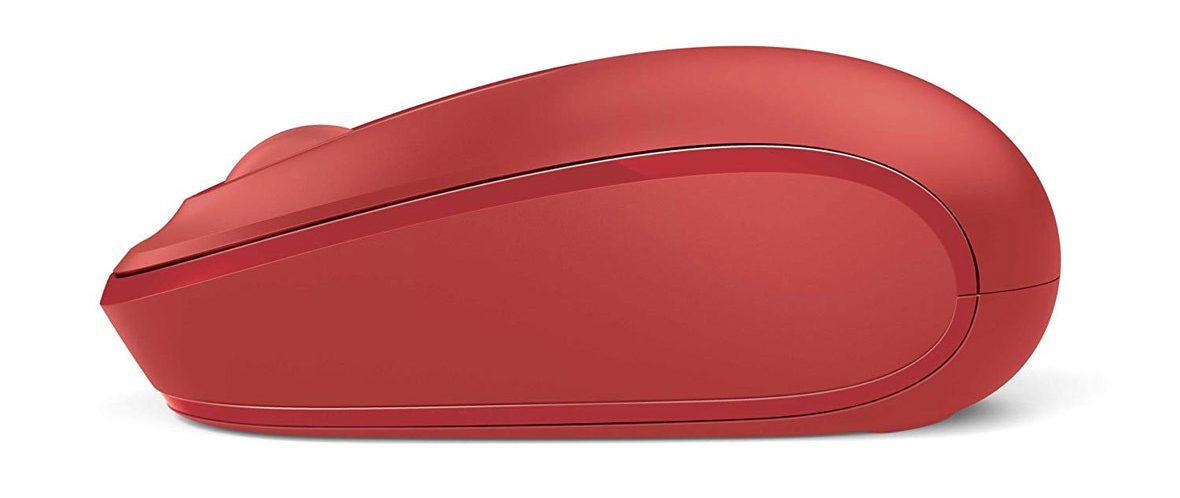 Chuột máy tính Microsoft Wireless Mobile Mouse 1850 (Đỏ)