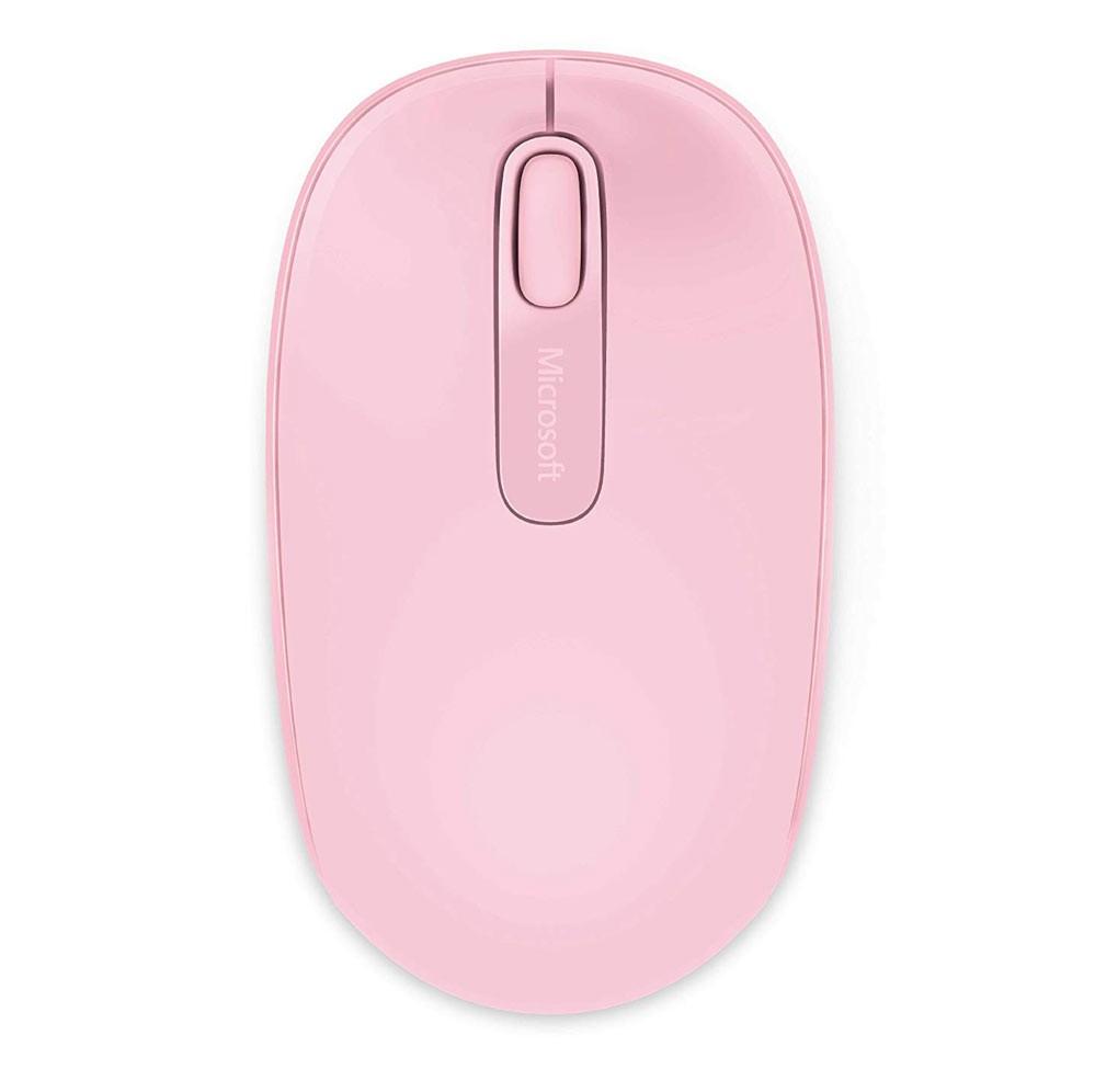 Chuột máy tính Microsoft Wireless Mobile Mouse 1850 (Hồng)