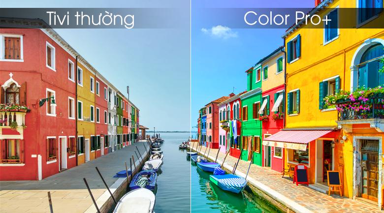 Color Pro+ đem tới màu sắc rực rỡ, tươi sáng nhất