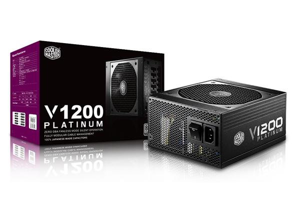 Nguồn Cooler Master V1200 Platium