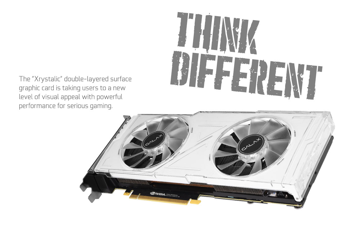 Card đồ họa GALAX GeForce RTX 2070 8GB GDDR6 White OC