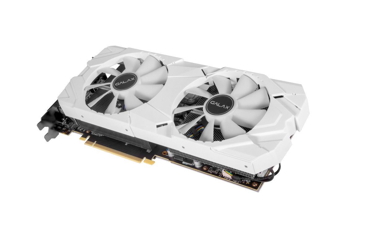 Card đồ họa GALAX GeForce RTX 2080 8GB GDDR6 EX White