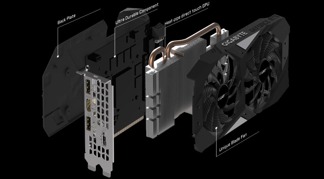 Card đồ họa Gigabyte GeForce RTX 2060 OC 6G GDDR6