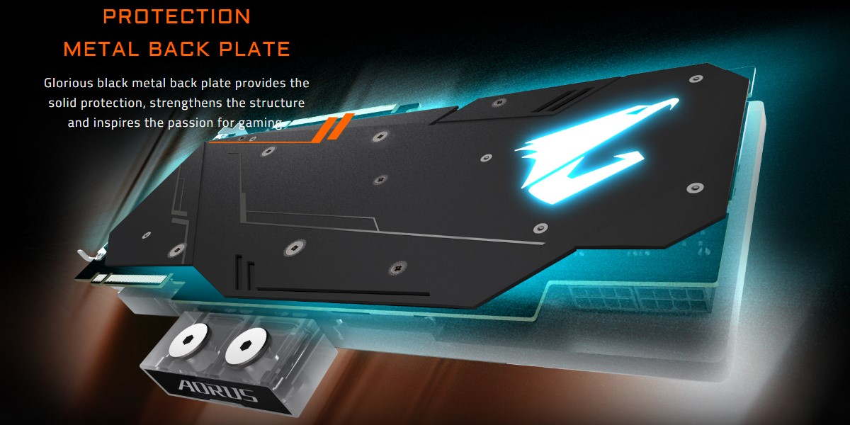 Card đồ họa Gigabyte GeForce RTX 2080Ti 11GB GDDR6 AORUS Xtreme WaterForce