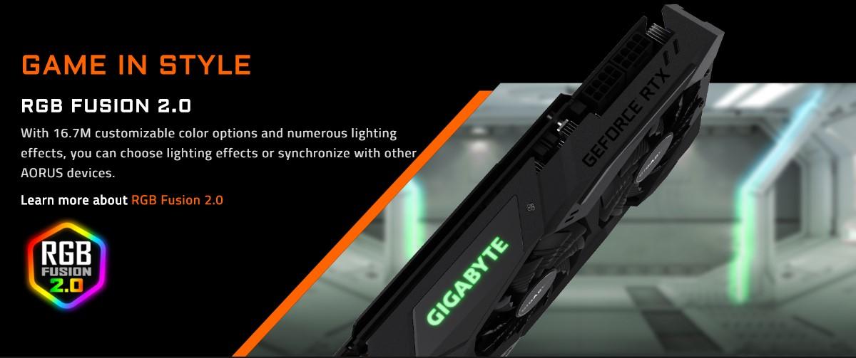 Card đồ họa Gigabyte GeForce RTX 2080Ti 11GB GDDR6 WindForce