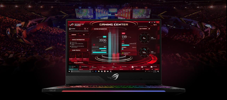 Đánh giá Laptop Asus ROG Strix Scar II GL504GM-ES312T 18