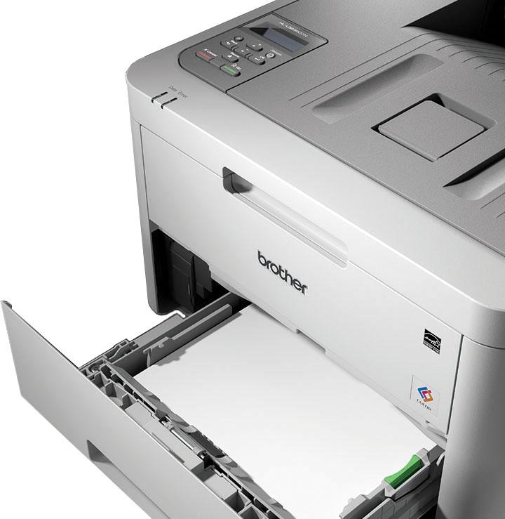 Máy in Laser màu Brother HL-L3230CDN khay đựng giấy lớn