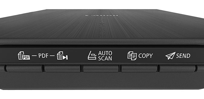 Máy scan Canon Lide 400 có 5 phím ấn EZ giúp thao tác dễ dàng