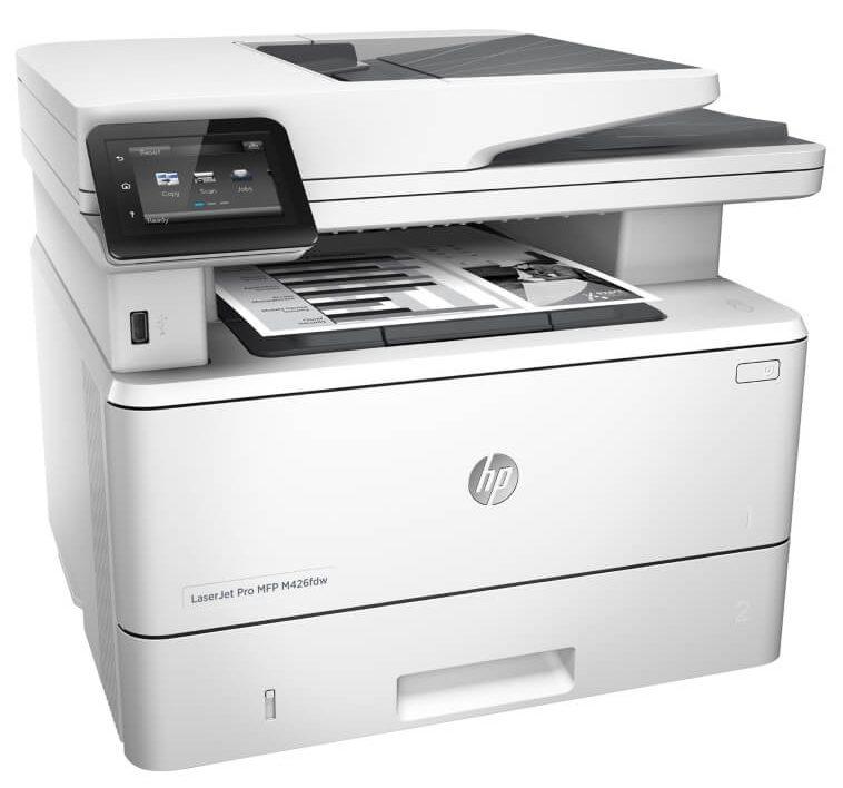 M426FDW (F6W15A) với kho chứa giấy rộng dễ dàng cho người dùng