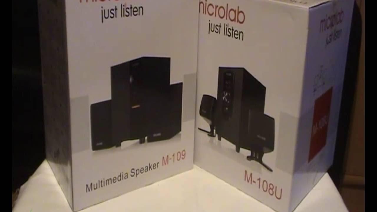 Loa Microlab M109(2.1)