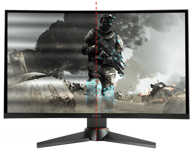 Công nghệ chống rung màn hình cong MSI Optix 27″ MAG27C