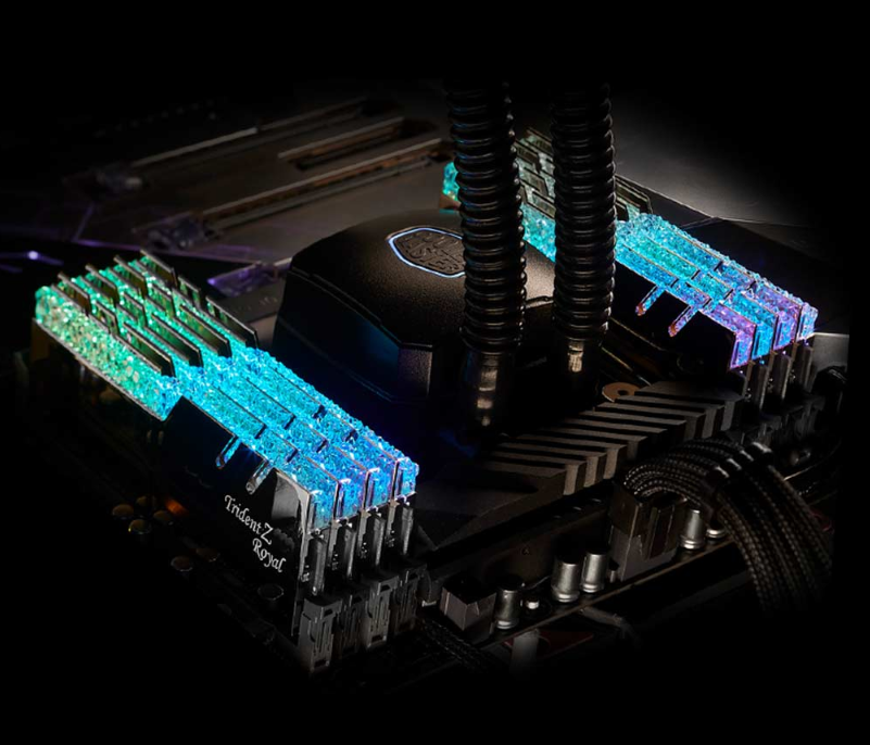AM G.SKILL TridentZ Royal RGB 2x8GB DDR4 3000MHz - F4-3000C16D-16GTRS