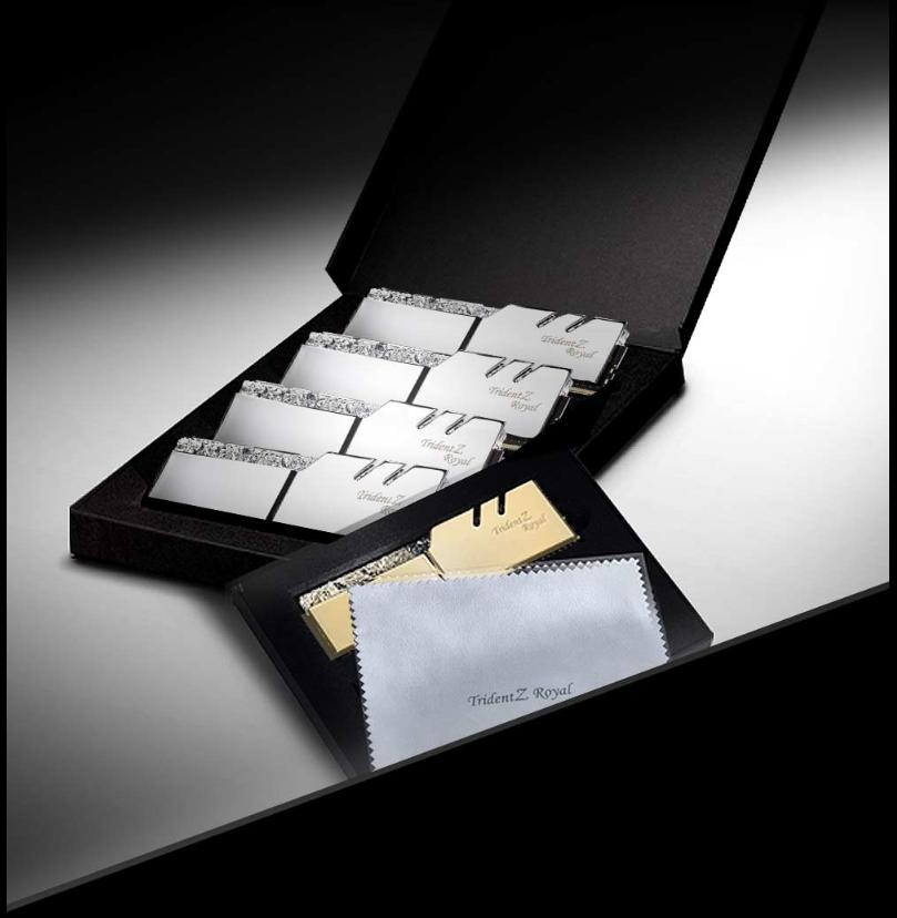 RAM G.SKILL TridentZ Royal RGB 2x8GB DDR4 3200MHz - F4-3200C16D-16GTRS