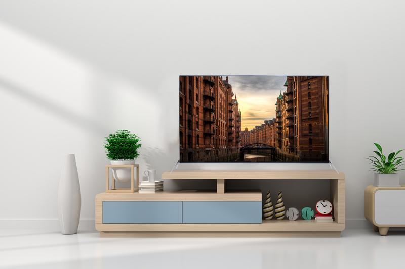 Smart Tivi Asanzo Full HD 55 inch 55AG800 thiết kế đẹp mắt phù hợp với mọi không gian