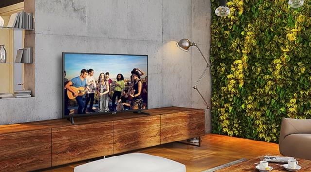SmartTiviSamsung4K55 inch UA55NU7090 thiết kế đẹp mắt đa dạng không gian sử dụng