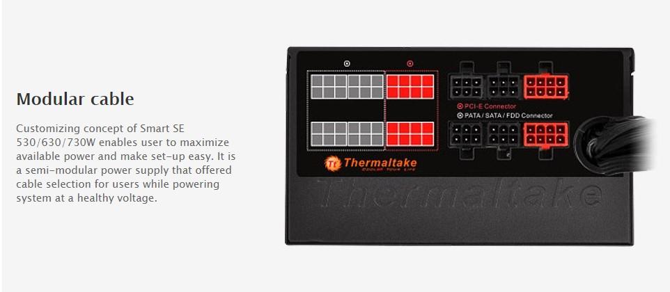Nguồn máy tính Thermaltake Smart SE 630