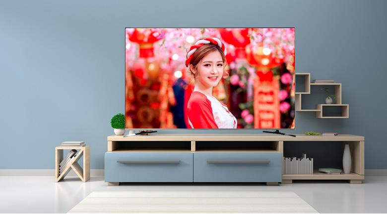 Tivi Panasonic 4K 55 inch TH-55FX650V thiết kế đẹp mắt phù hợp với phòng khách