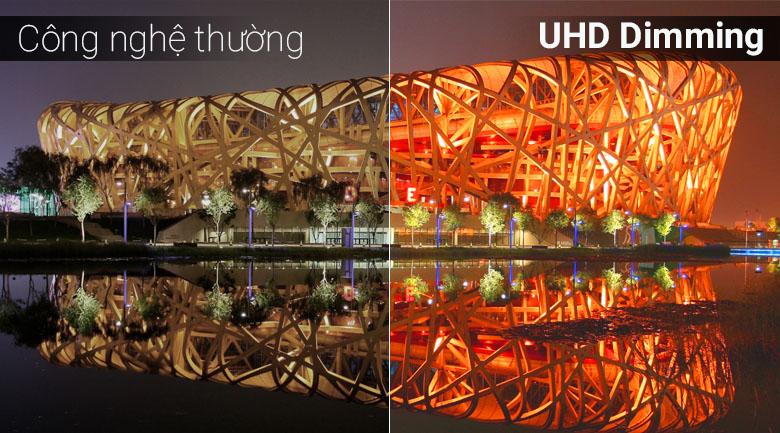 UHD Dimming tăng cường độ tương phản đem tới hình ảnh chân thực, sinh động