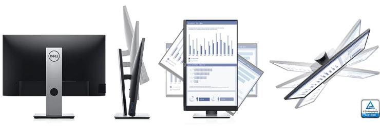 Thiết kế của màn hình Dell 24
