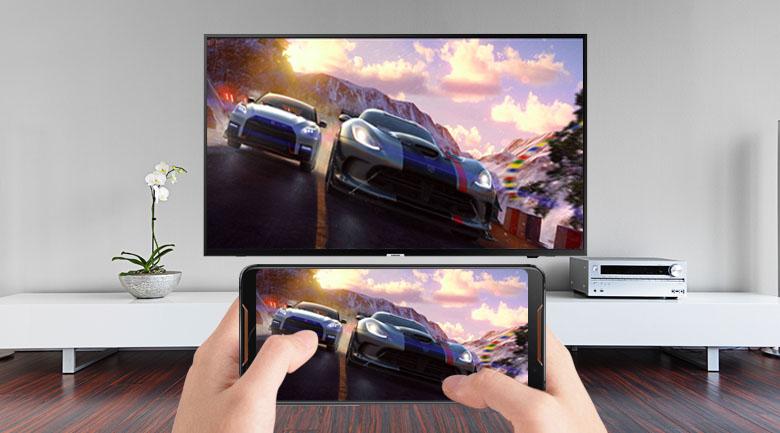 chiếu màn hình điện thoại lên tivi dễ dàng