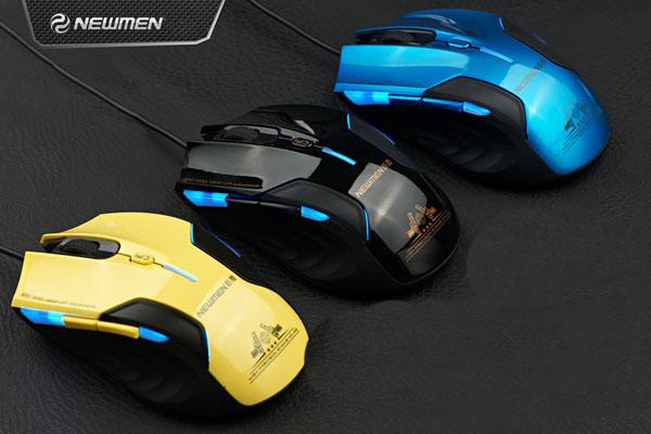 Sản phẩm có 3 màu cá tính: Đen, Xanh dương, vàng.