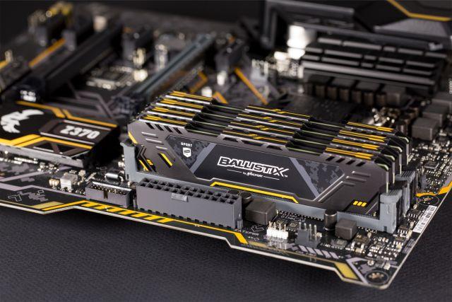 Nhanh hơn, mạnh hơn, mát hơn là bộ tiêu chí của RAM Crucial Ballistix Sport AT