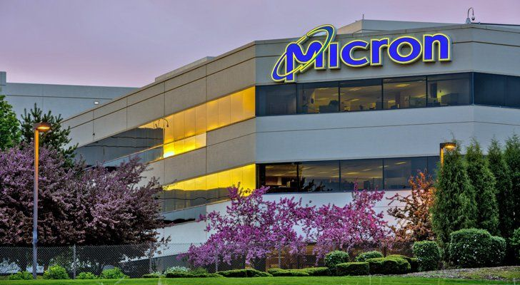 Hình ảnh trụ sở Micron tại Mỹ