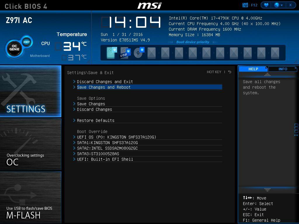 Bo mạch chủ / Mainboard MSI H81M-E33