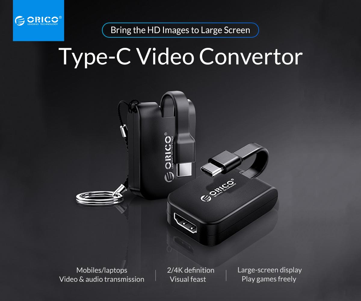 Đầu chuyển đổi Orico Type C sang Cổng HDMI (XC-111)-1