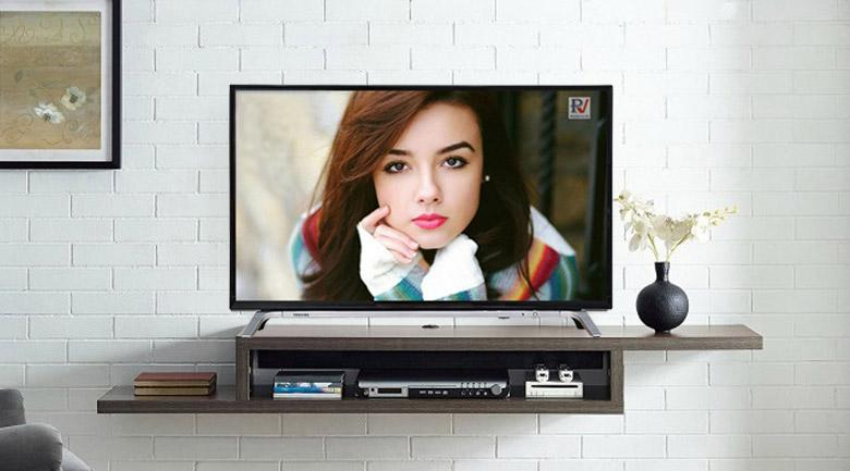 Smart Tivi Toshiba Full HD 43 inch 43L5650VN thiết kế đẹp mắt vô cùng vững chắc