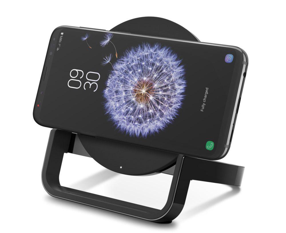 Đế Sạc Không Dây Belkin Cho Apple, Samsung, LG, Sony F7U052jaBLK Công Suất 10W Chuẩn Sạc Không Dây Qi-3