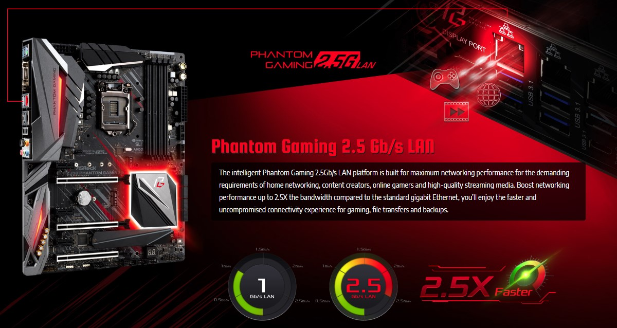 Bo mạch chủ ASRock Z390 Phantom Gaming 6
