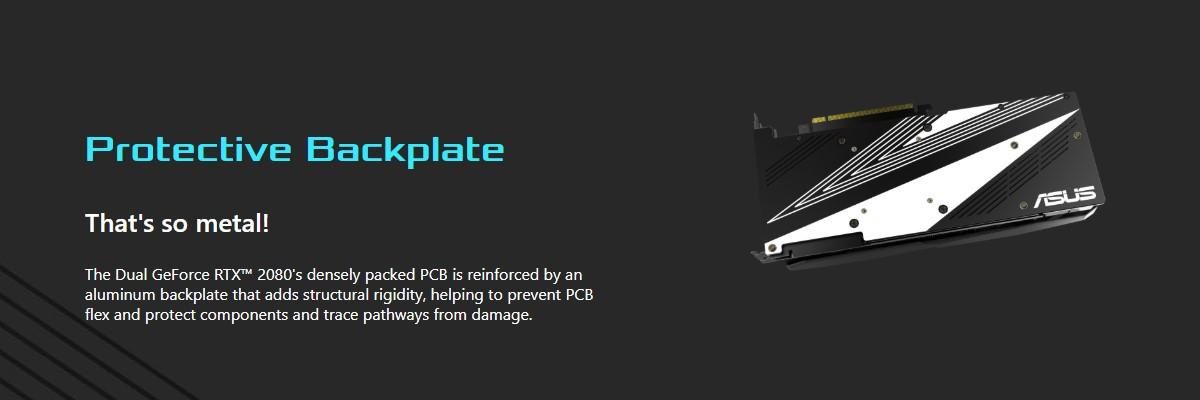 Card đồ họa ASUS GeForce RTX 2080 8GB GDDR6 DUAL