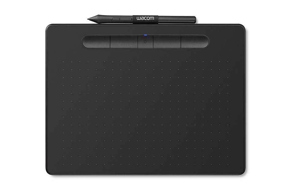 Bảng vẽ Wacom Intuos, Medium Bluetooth - Black (CTL-6100WL-K0-CX)-1