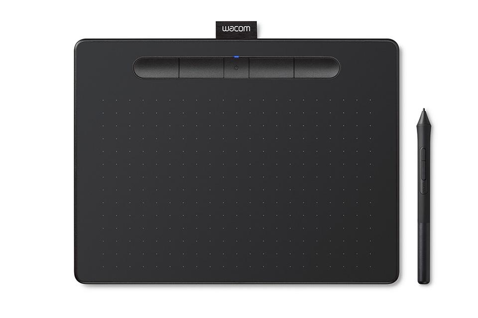 Bảng vẽ Wacom Intuos, Medium Bluetooth - Black (CTL-6100WL-K0-CX)-2