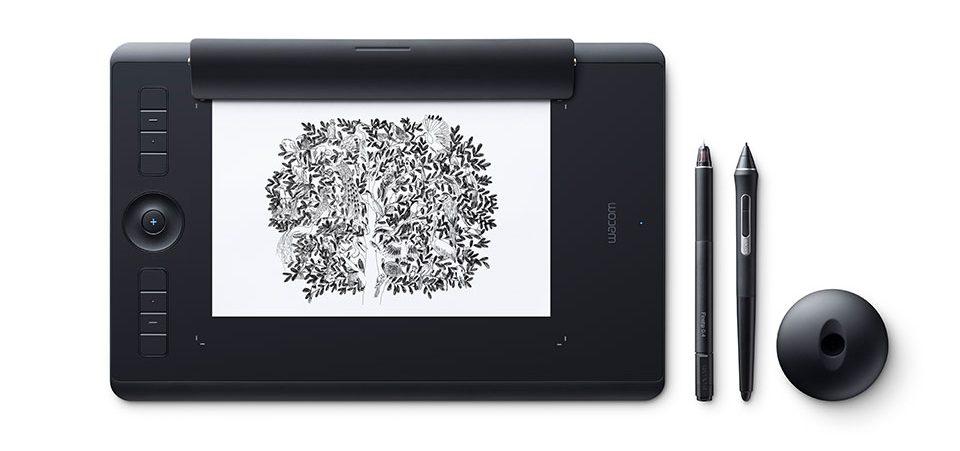 Bảng vẽ Wacom Intuos Pro Paper - Medium (PTH-660/K1-CX)-2