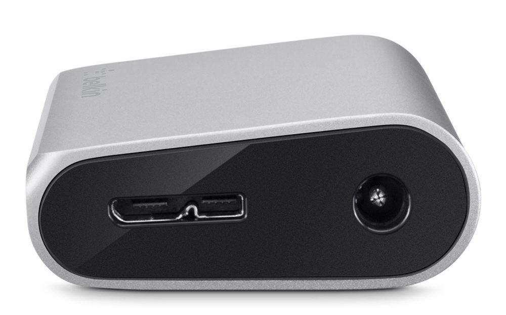 Bộ Chia Cổng USB 3.0 Belkin F4U073qe Mở Rộng 4 Cổng Chuẩn Truyền SuperSpeed 5Gbps-5