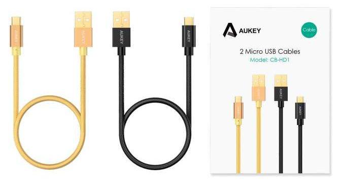 Cáp Sạc Micro USB Aukey cho Samsung CB-HD1 1m_1