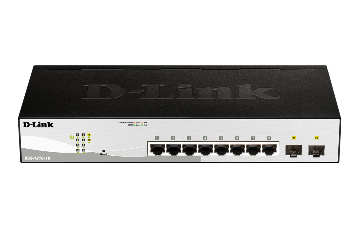 Switch D-Link DGS-1210-10