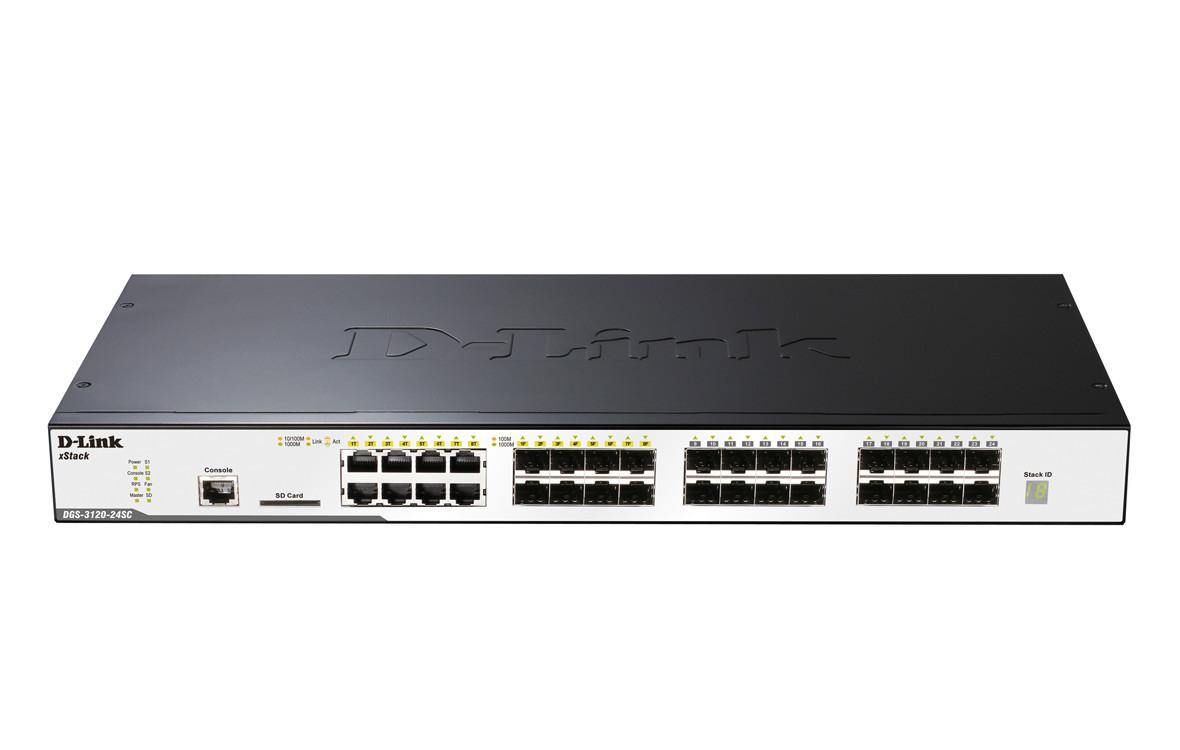 Switch D-Link DGS-3120-24SC