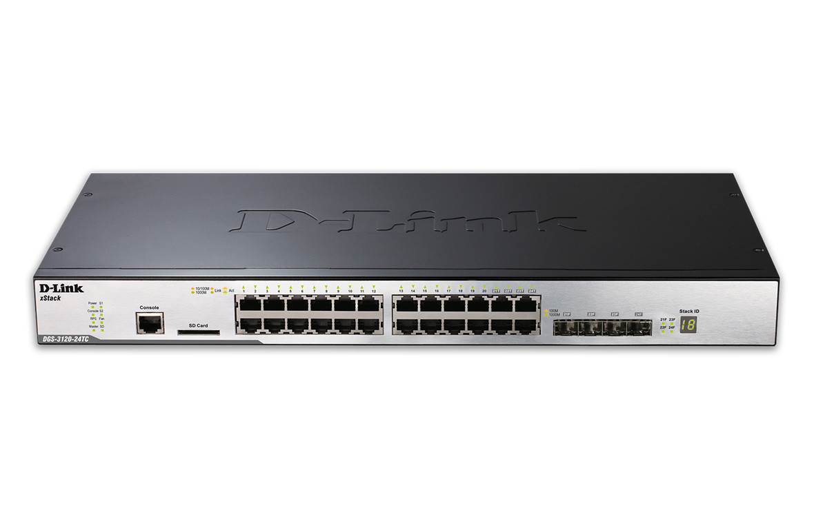 Switch D-Link DGS-3120-24TC