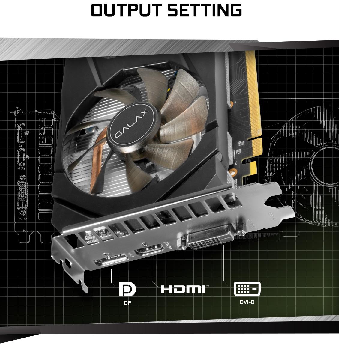 Card đồ họa GALAX GeForce RTX 2060 6GB GDDR6