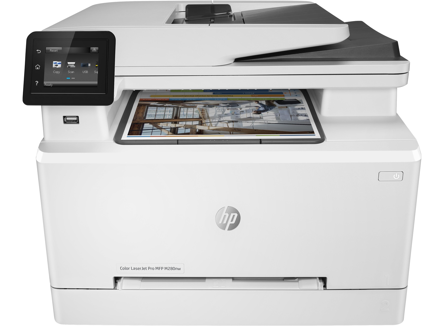 Máy in laser màu HP Pro MFP M280NW (T6B80A)-1
