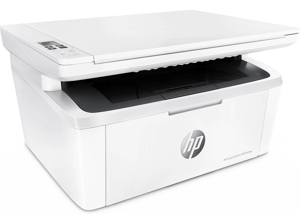 Máy in laser trắng đen HP Pro MFP M28W (W2G55A)