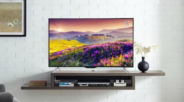 Smart Tivi Sharp 50 inch LC-50UA6800X với hình ảnh sắc nét màu sắc rực rỡ