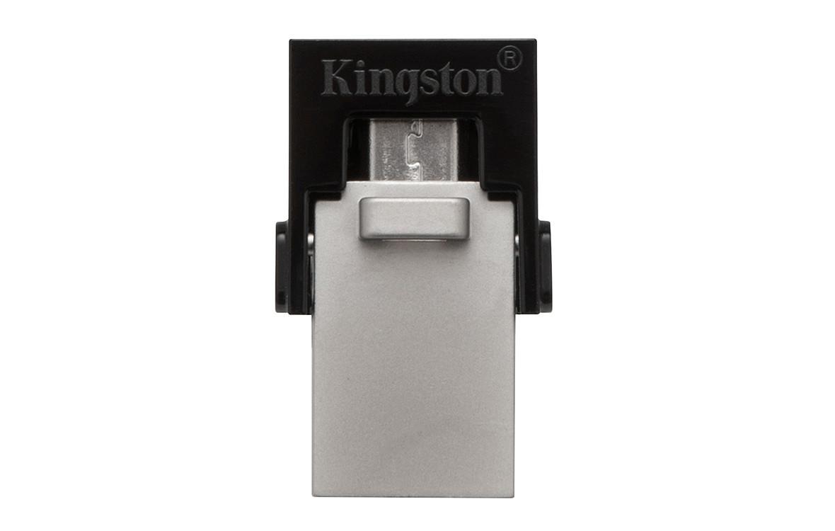 USB Kington 32GB MicroDuo USB 3.0 + Micro USB - DTDUO3-2