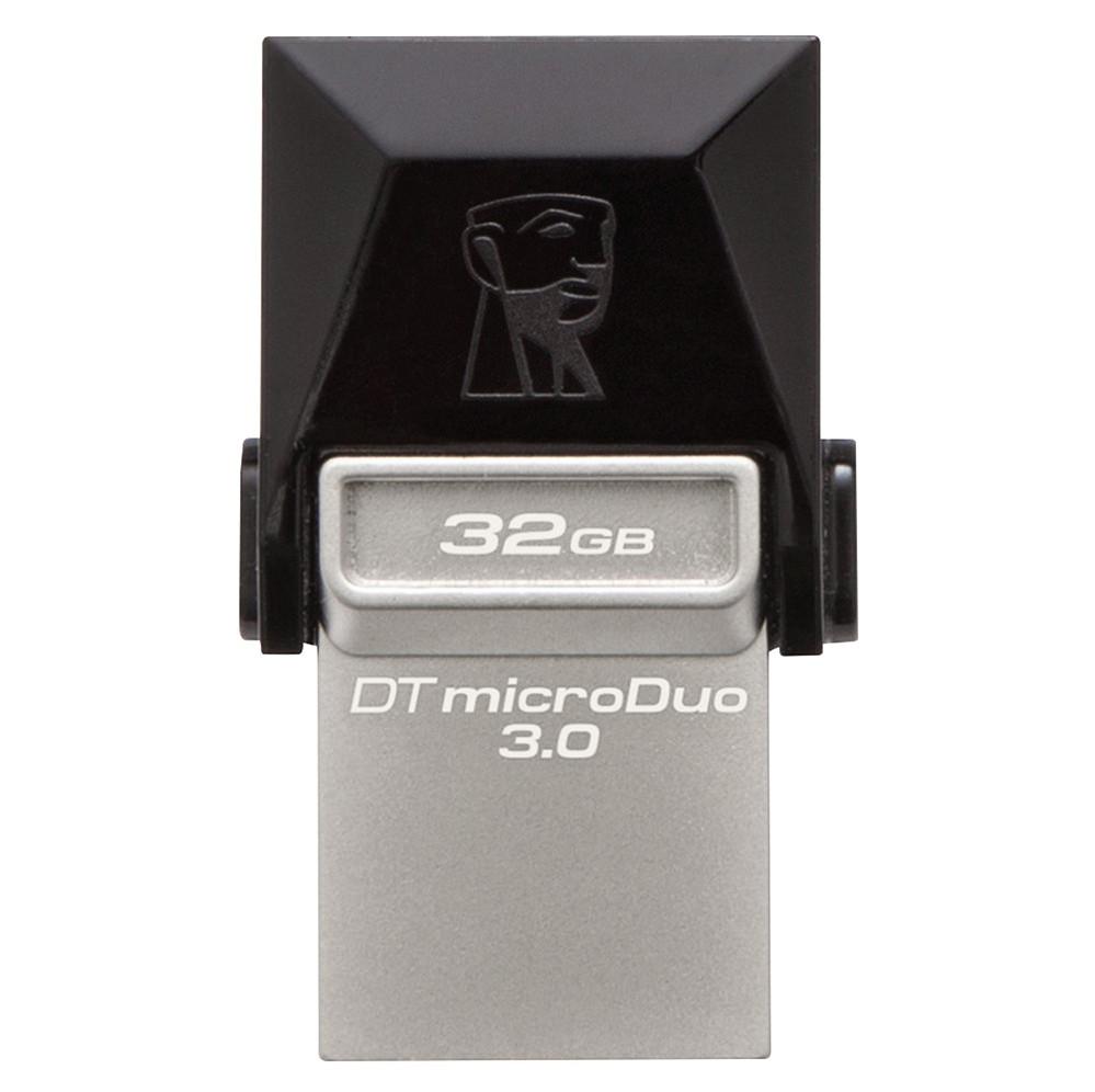 USB Kington 32GB MicroDuo USB 3.0 + Micro USB - DTDUO3-4