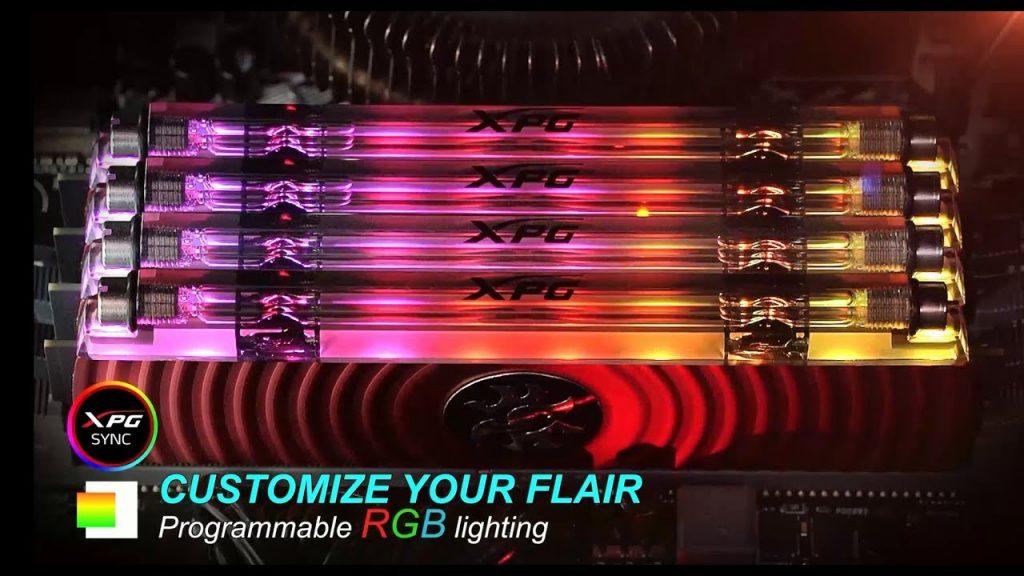 Ánh sáng lập trình RGB