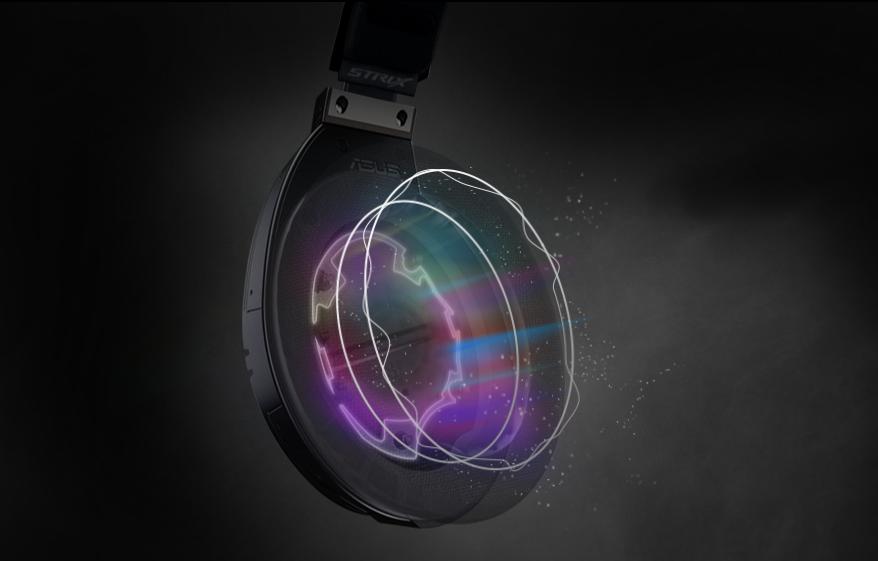 ROG Strix Fusion 500 sử dụng công nghệ buồng kín âm với khả năng tái tạo âm thanh một cách hoàn hảo